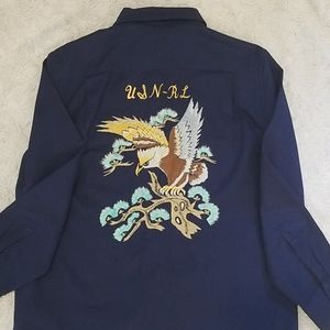 Polo Ralph Lauren button down w embroidery on back
